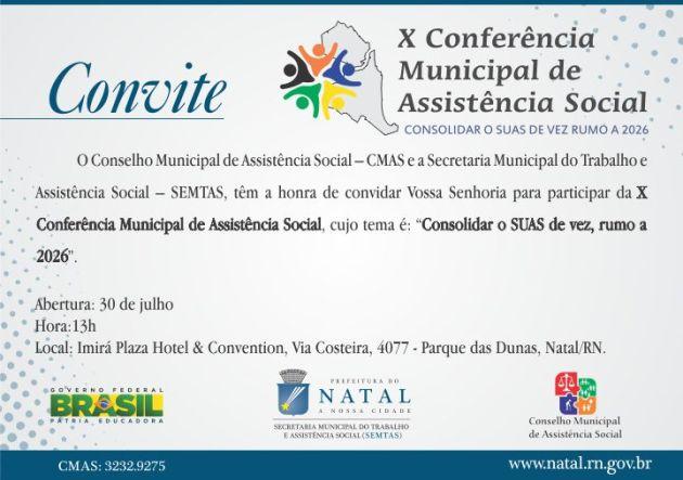 convite conferência