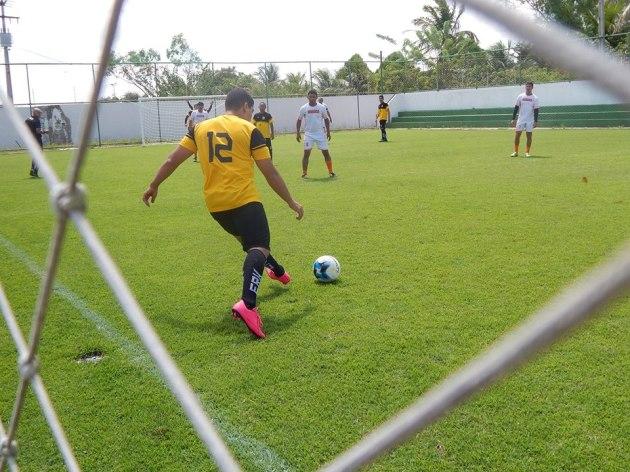 Quadra de Futebol Área de Lazer