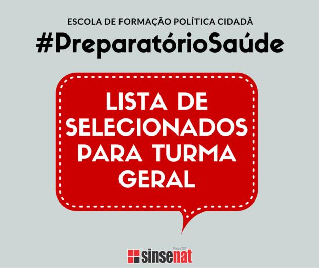ESCOLA DE FORMAÇÃO POLÍTICA CIDADÃ
