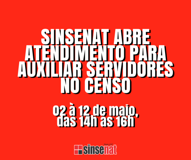 CENSO DOS SERVIDORES (1)