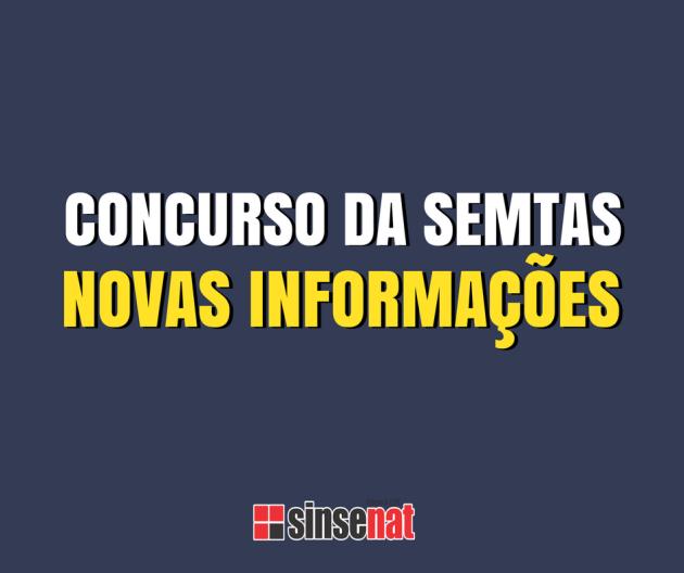CONCURSO DA SEMTAS
