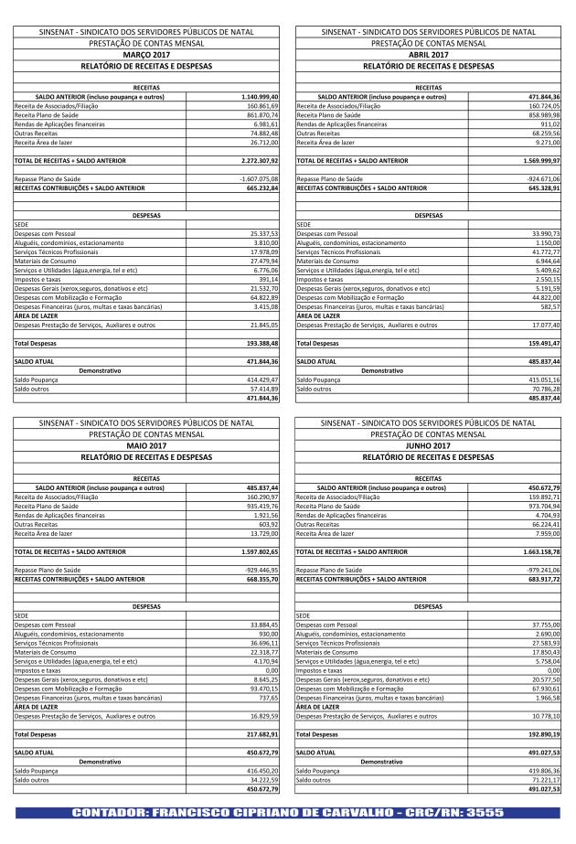 Jornal Prestação de Contas 2017-2