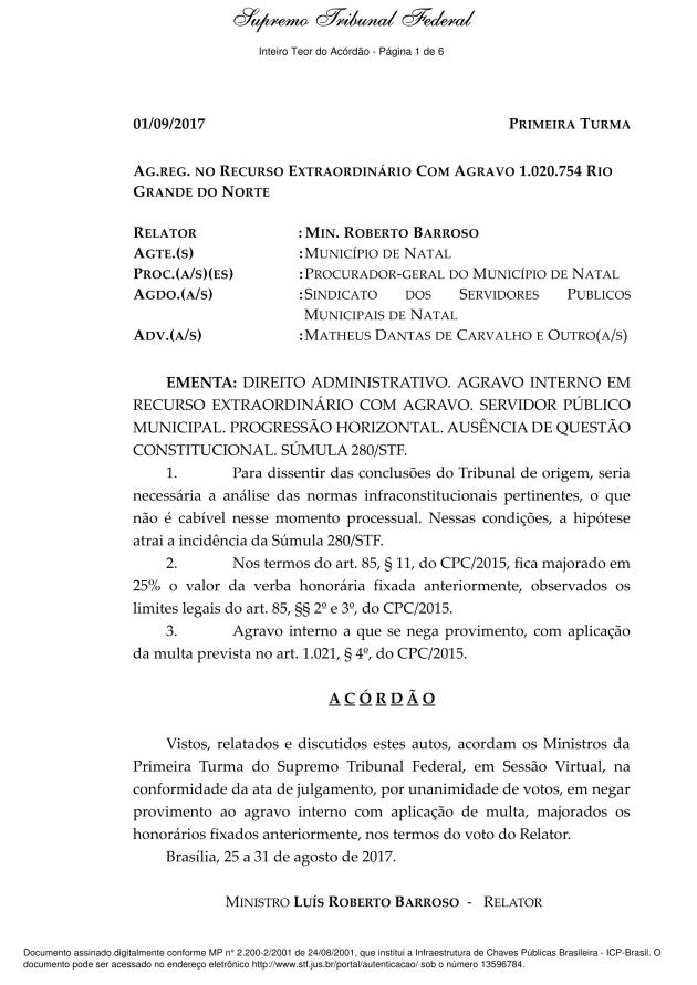 decisão stf pccr geral agarvo interno-1