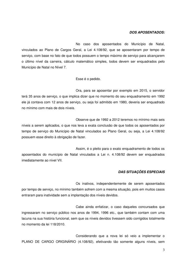 000 - pedido de execução contra o município - pedido de obrigação de fazer EXECUÇÃO PROVISORIA 2017-3