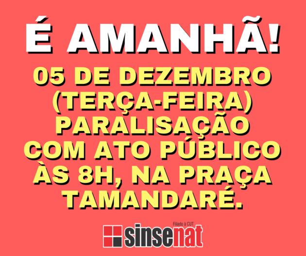 É AMANHÃ!
