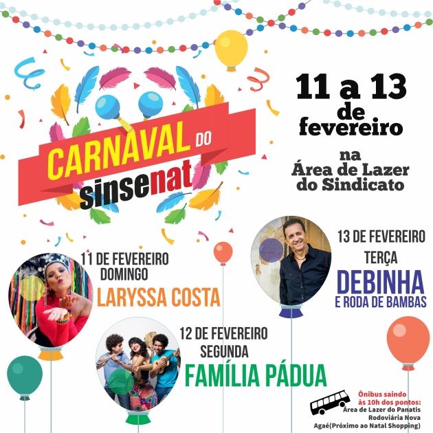 carnaval SINSENAT 2018